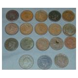 U.S. Large Cent Lot.