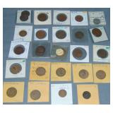 Civil War Token Lot.