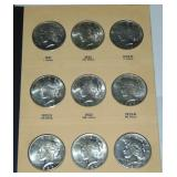 Peace Dollar Collection.