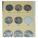 High Grade Morgan Dollar Collection.
