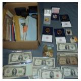 Currency U.S. and Foreign Large Lot.