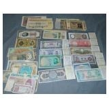 Foreign Currency Lot.