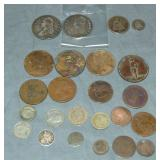 US & Foreign Coin Lot.