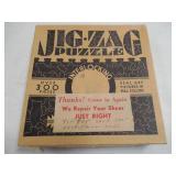 Vintage JIG - ZAG PUZZLE - INTERLOCKING