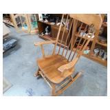 Vintage Maple Rocking Chair