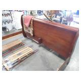 Sleigh Bed w/ Night Stands