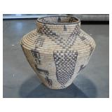 Large Hand Woven Basket (12 x 19) - PAKISTAN