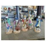 Monkey Band Statues