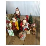 Santa Claus Statues and More