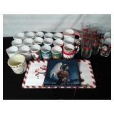 Christmas Mugs & Glassware
