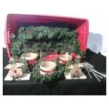 Christmas Candle Holders and More