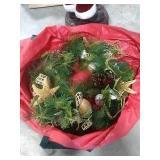 Beachside Christmas Wreath