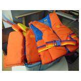 Various Size Life Jackets