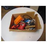 Various Tools- Saw/ Sander/ Hammer/ Drill Bits