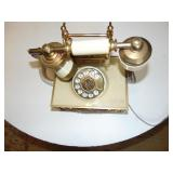 Antique Brass Plated Telephone