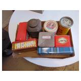 Various Collectable Tins