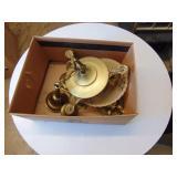 Vintage Brass Chandelair