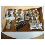 Collectable Blue figurines