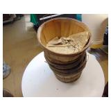 4 Bushell Baskets