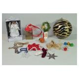 CHRISTMAS ORNAMENTS - GLASS BULB & WEDDING