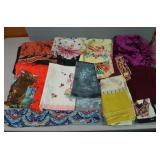 SELECTION OF TABLE RUNNERS, TABLE CLOTH,