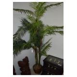 "FAUX PALM TREES, ~80""T (2X)"