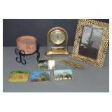 ASSORTMENT - COASTERS, PICTURE FRAME, GLASS