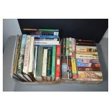 (2) BOXES: BOOKS - HARDBACK & PAPERBACK -