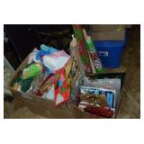 ASSORTMENT OF WRAPPING PAPER, BAGS, TISSUE