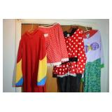 GROUPING OF 4 ADULT COSTUMES