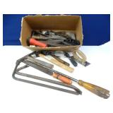Large Box Filled with Assorted Shop Tools (Mult)