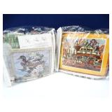Pair of Detailed Needle Point Kits (2)