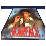 Scarface Film Poster in Protective Frame