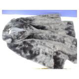 Valerie Stevens Black Faux Fur Coat, Size M