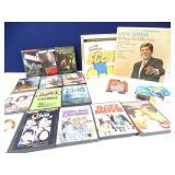 Vinyl Record, DVD, Hotwheels, Book on Tape +