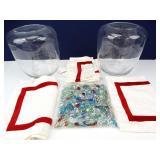 Large Terrarium Jars & Decorative Glass Beads