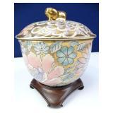 Decorative Jar & Stand
