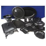 Black Serving Ware