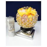 Artistic Himalayan Salt Lamp