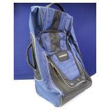 Large, Hummer Brand Hardback Rolling Suitcase