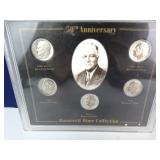 50th Anniversary Roosevelt Dime Set