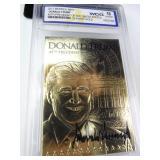 Donald Trump Gold Foil Card