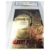 Albert Pujols Gold Foil Card