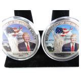 Donald Trump 45th President Commemorative Coins