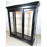 Pulaski Lighted Display-Curio Cabinet Very Nice!