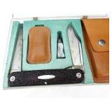 Vintage Western 932 Pocket Knife-Saw with +