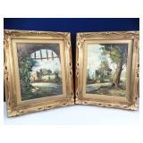 Gold Framed Paintings