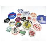 Vintage Texas State Political Button Pins (15+)