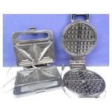 Waffle Iron & Sandwich Press