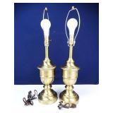 Brass-colored Desk Lamps